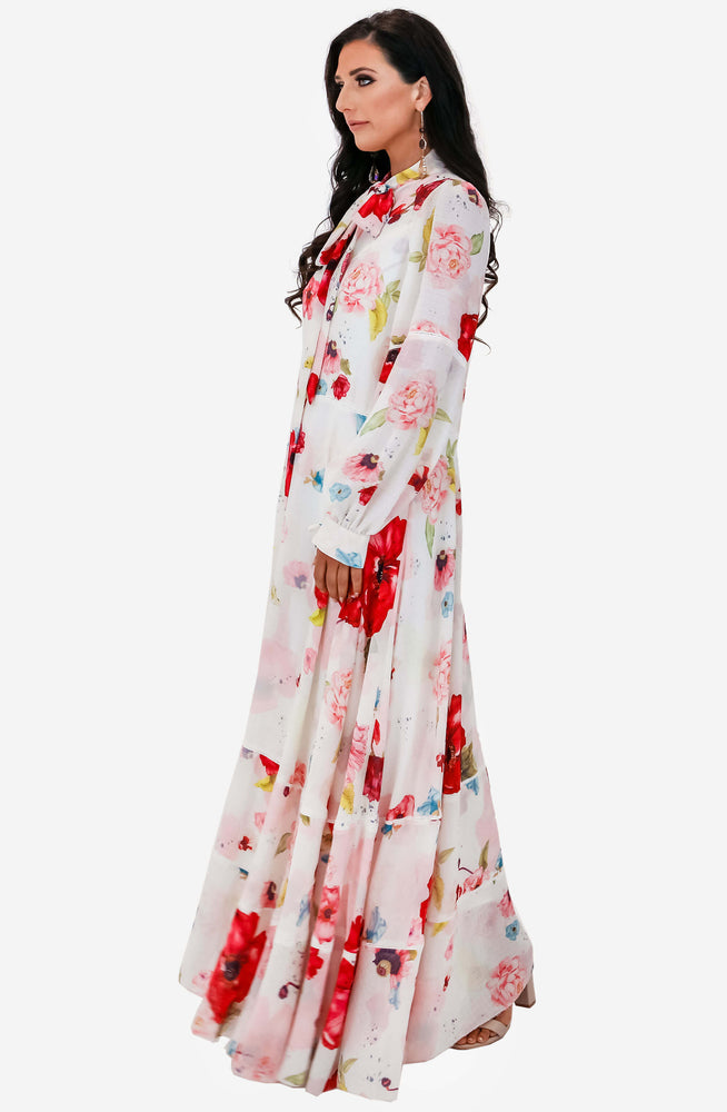 The Leroux Floral Maxi Dress by Camilla and Marc