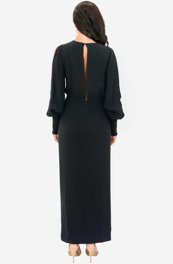 Military Blouson Evening Dress by Dion Lee