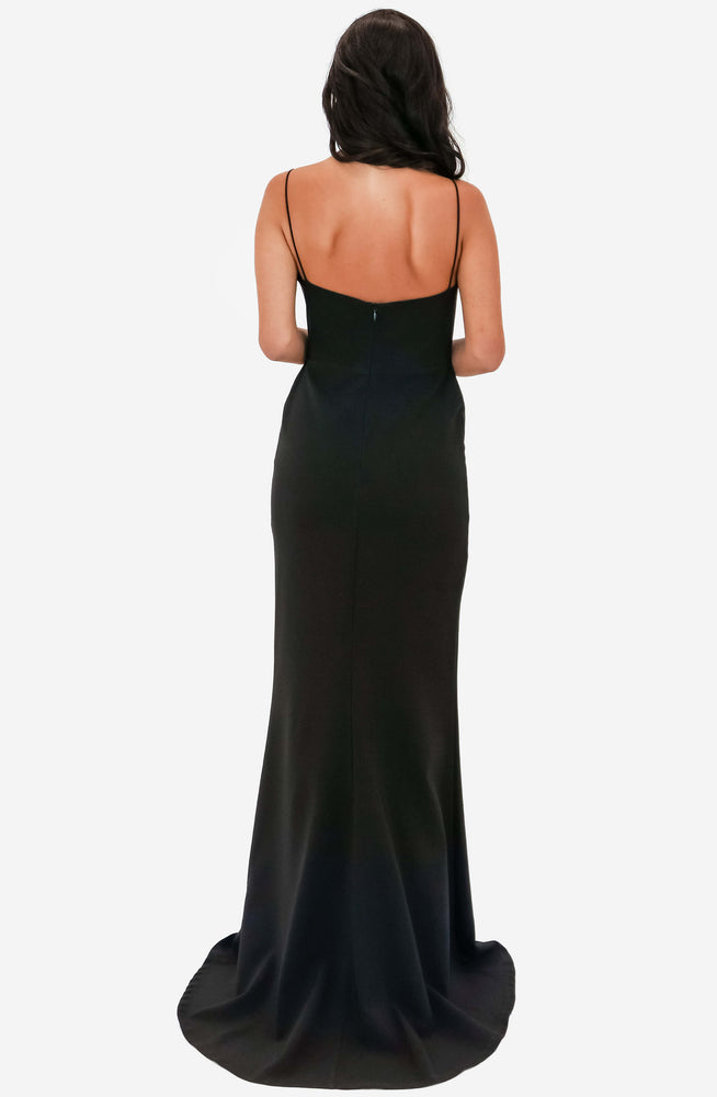 Chloe Lace Black Gown by Nookie