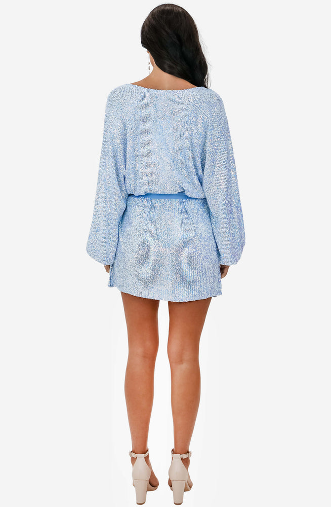Broadway Short Baby Blue Dress by Winona