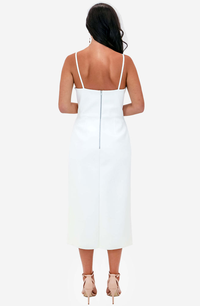 Laced Coil Bustier Dress by Dion Lee