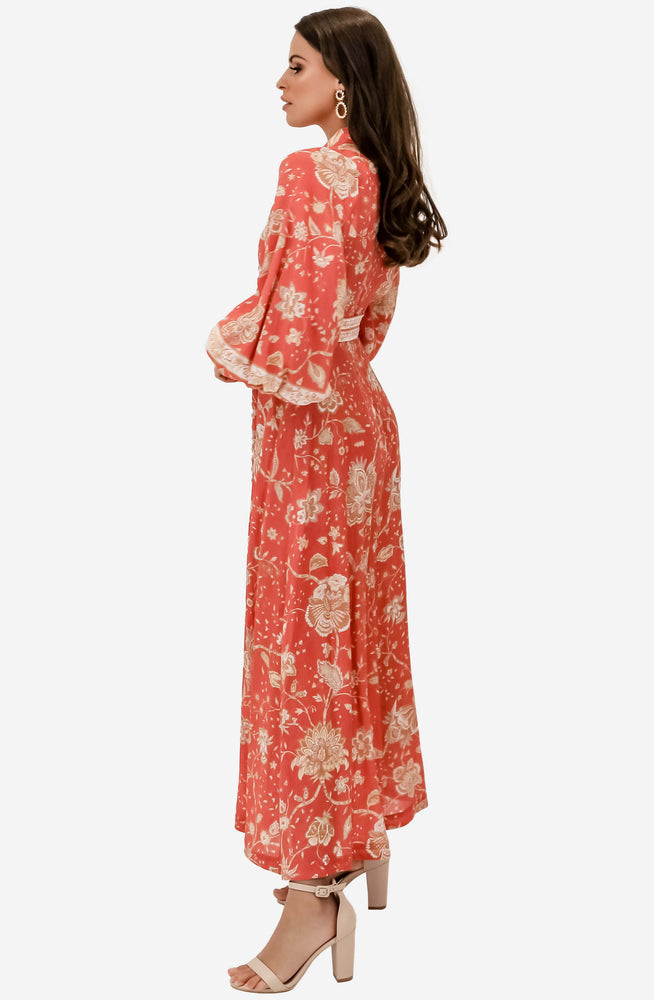 Veneto Border Long Dress by Zimmermann