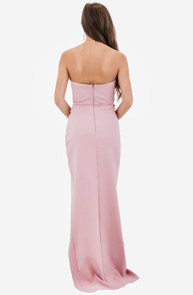 Bisous Dusty Pink Gown by Nookie