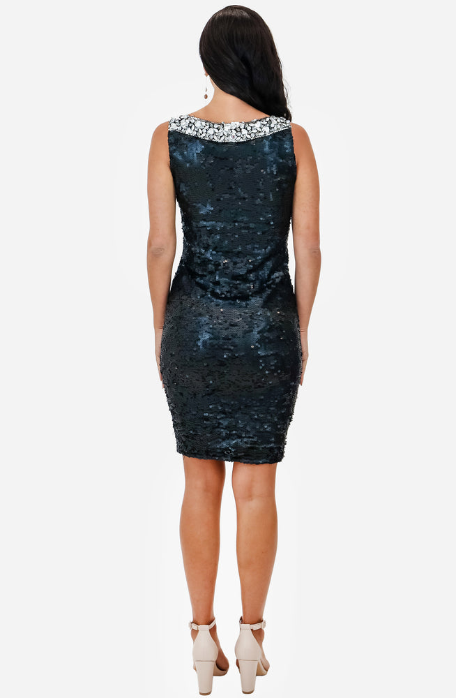 Beaded Sequin Dress Archive by Aje