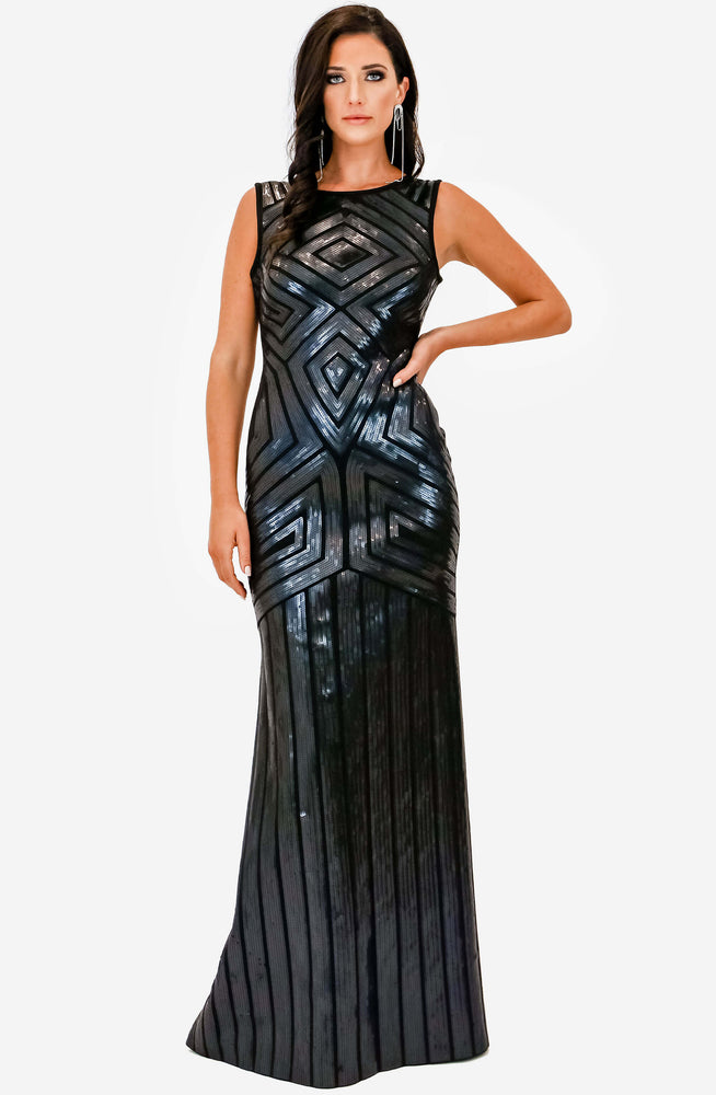 Sequin Maxi Archive by BCBG Max Azria