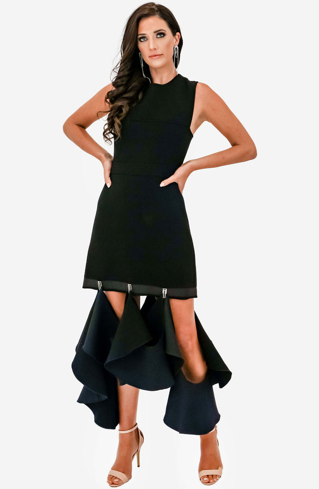 Suspended Hook Mini Dress by Dion Lee