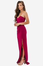 Bisous Ruby Gown by Nookie