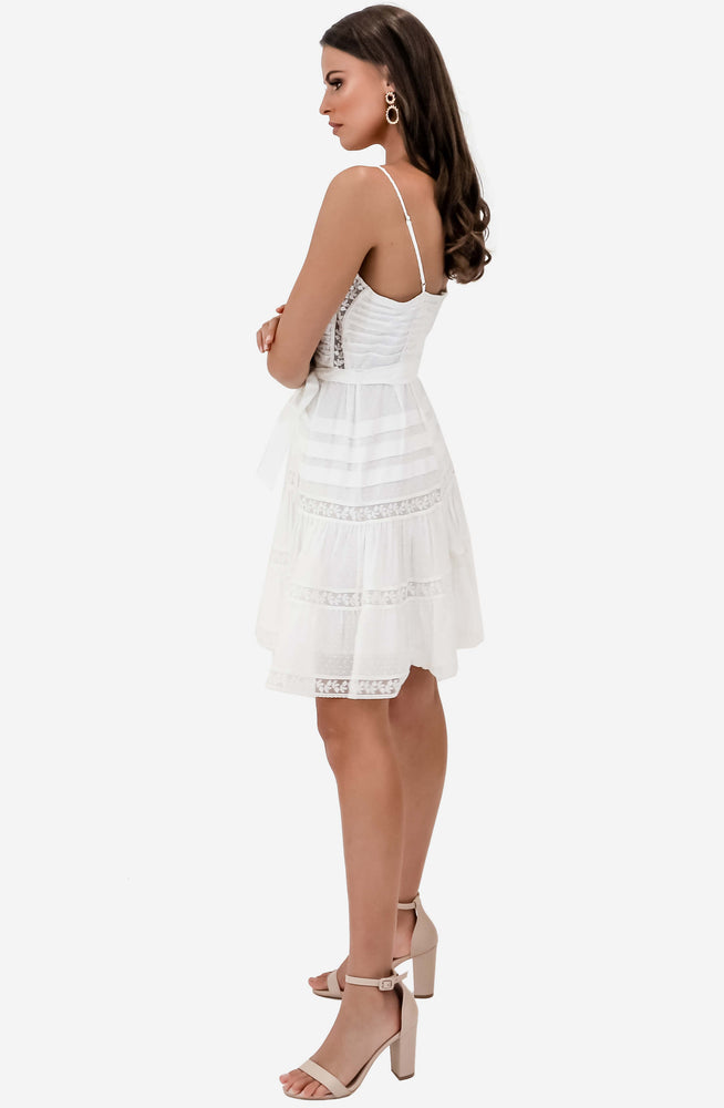 Honour Scallop Short Dress by Zimmermann
