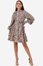 Sabotage Silk Button Up Mini Dress by Zimmermann