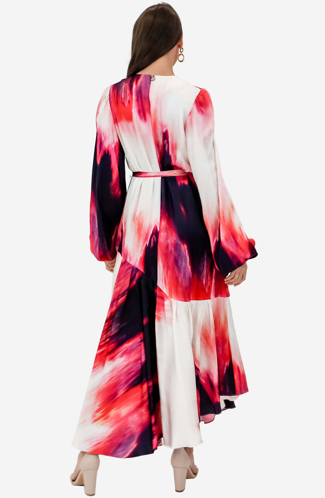 Helena Miami Dye Maxi Dress by Aje