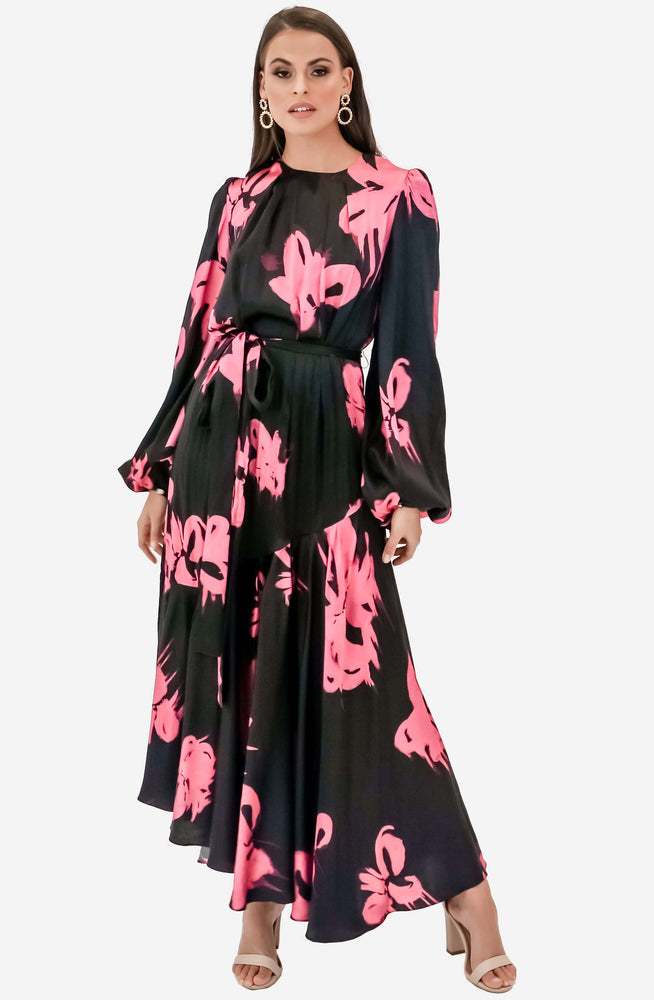 Helena Begonia Floral Maxi Dress by Aje