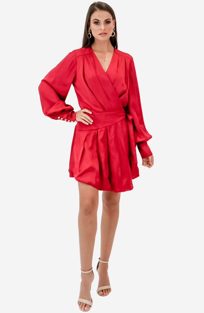Galina Wrap Dress by Aje