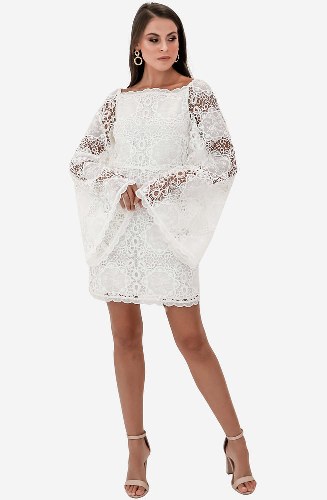 Diamond White Mini Dress by Alice McCall