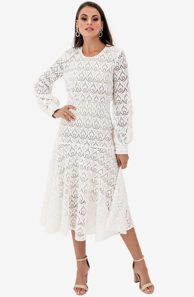 Romily Lace Midi Dress by We Are Kindred