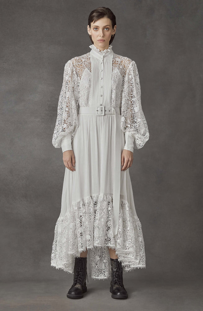 Immaculate Lace Dress by Leo & Lin