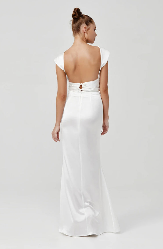 Kiera Dress White by Lexi