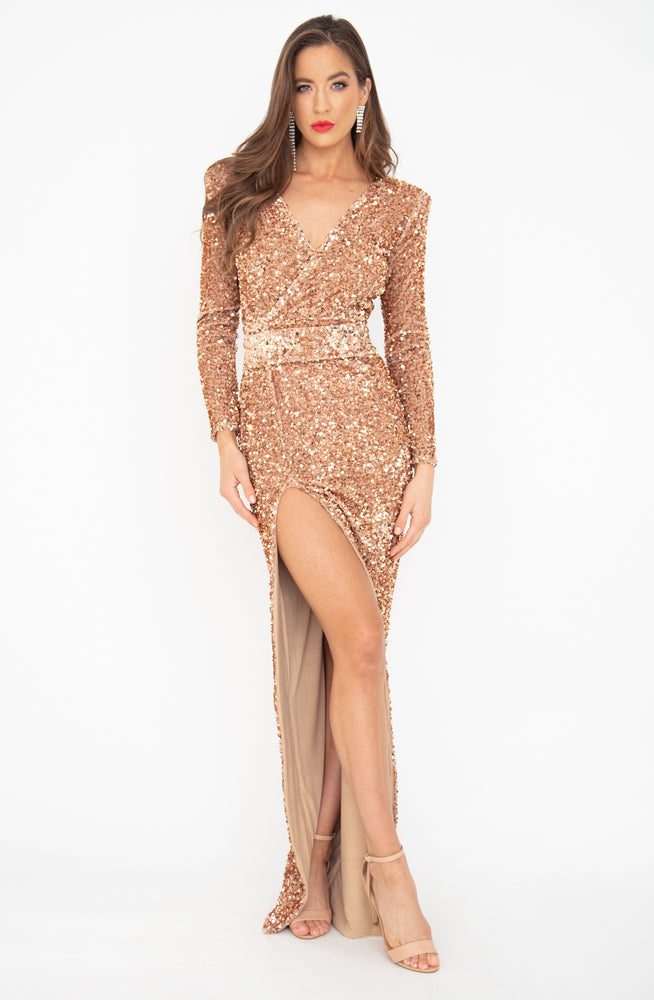 L'amore Sequin Gown