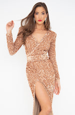 L'amore Sequin Gown by HSH