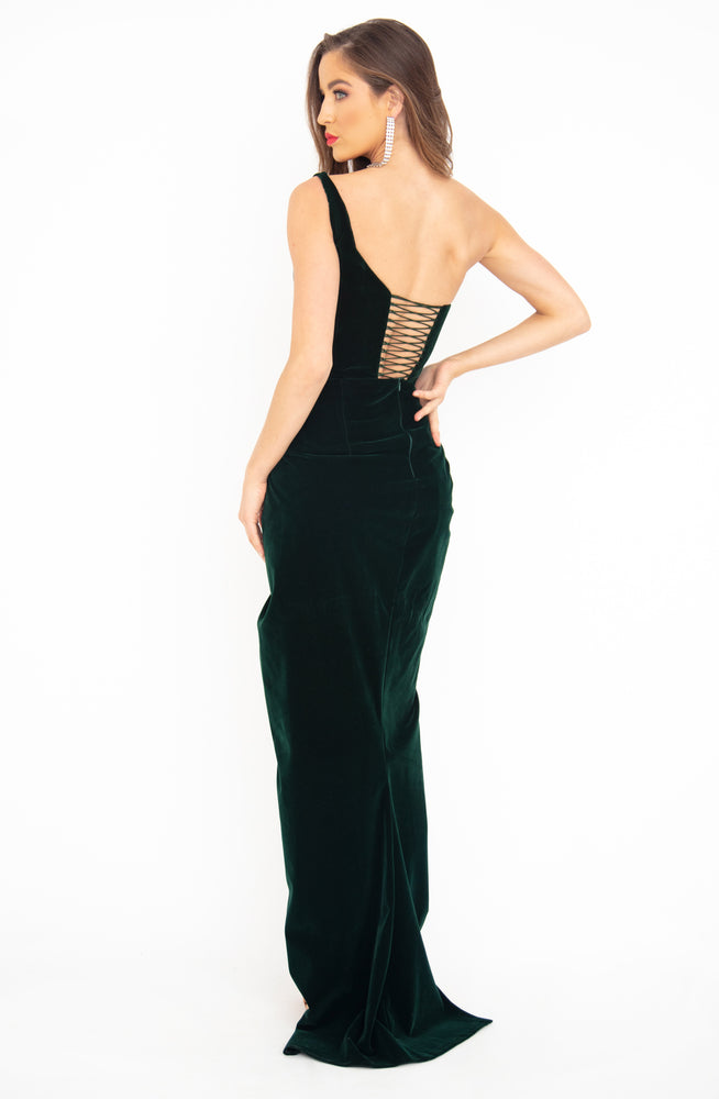 Emerald Lust Gown by HSH