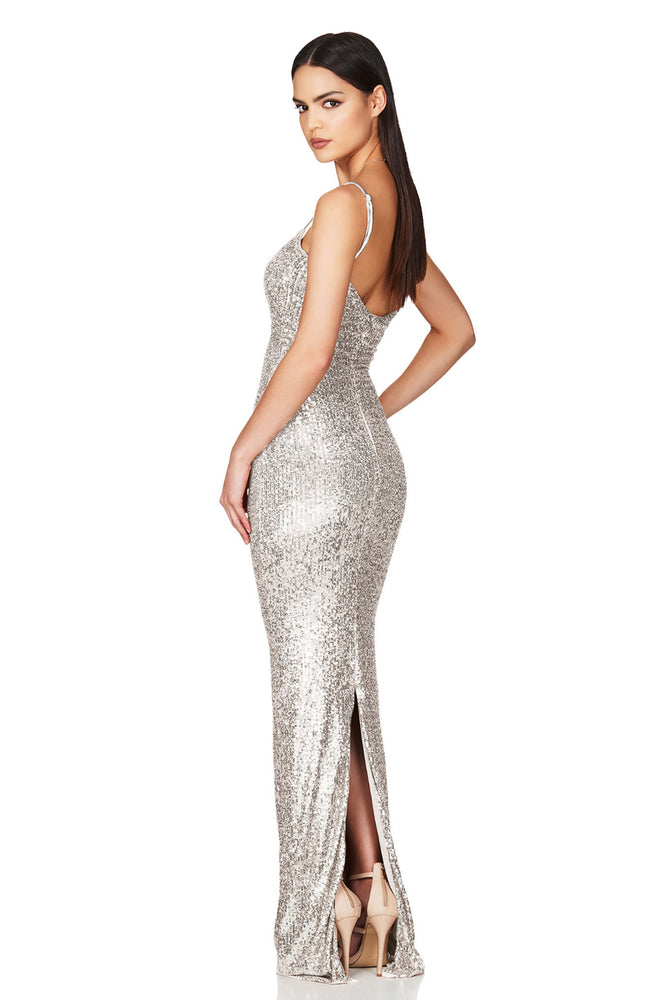 Lovers Silver Gown by Nookie