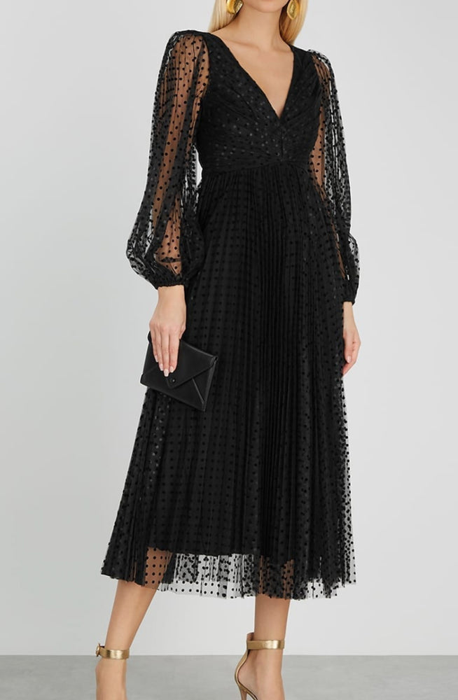 Lucky Pleated Ballet Dress by Zimmermann
