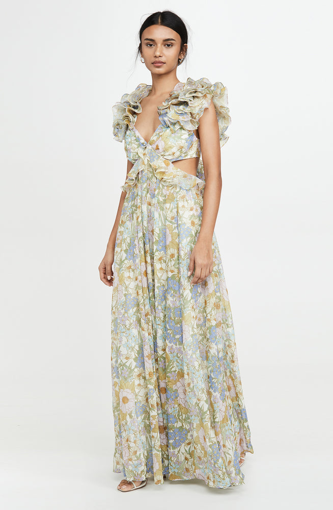 Super Eight Ruffle Gown by Zimmermann