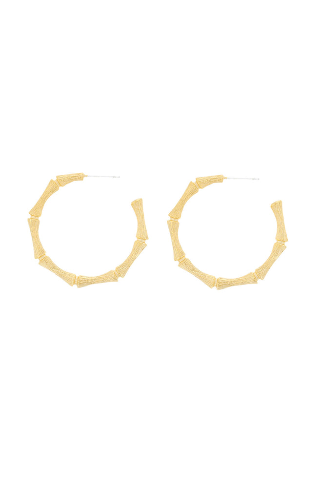 Cane Hoops by Jolie & Deen
