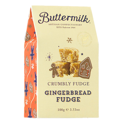 Buttermilk Gingerbread Fudge