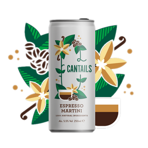 Cantails Espresso Martini 250ml