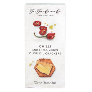 Chilli & Extra Virgin Olive Oil Crackers