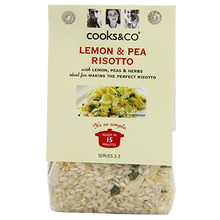 Load image into Gallery viewer, Cooks & Co Lemon & Pea Risotto