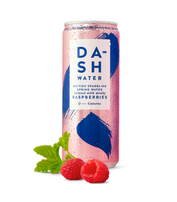 Dash Sparkling Raspberry 330ml