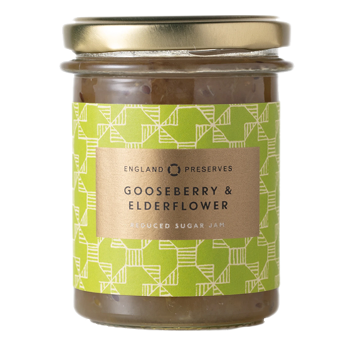 England Preserves Gooseberry & Elderflower Jam