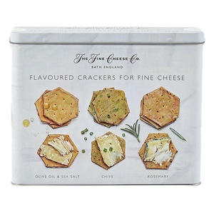 Extra Virgin Olive Oil Cracker Selection Tin