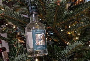 Individual Sipsmith Christmas Tree Decorations