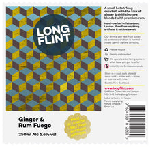 Load image into Gallery viewer, Longflint Ginger & Rum Fuego