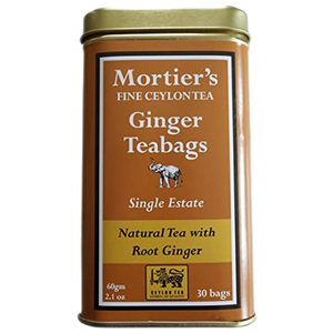 Mortiers Tea Ginger Bags
