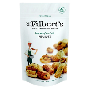 Mr Filberts Rosemary Sea Salt Peanuts 110g
