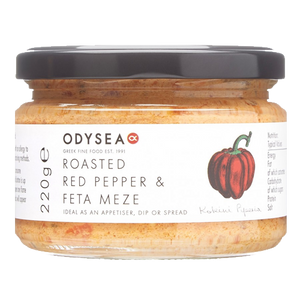 Odysea Red Pepper & Feta Meze