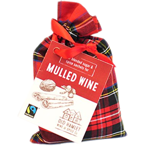 Old Hamlet Tartan Bag of Mulled Wine Sachets