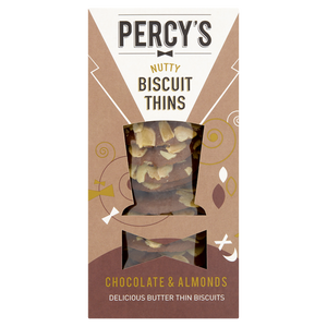 Percy's Chocolate & Almond Biscuit Thins