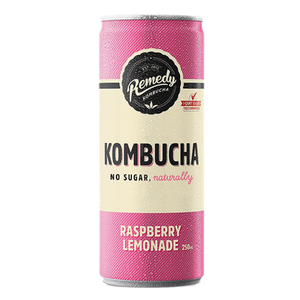Remedy Raspberry Lemonade Kombucha 250ml