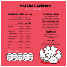 Load image into Gallery viewer, Rollagranola Matcha Caveman 300g