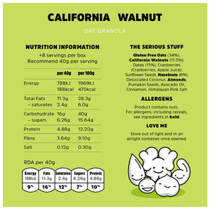 Rollagranola California Walnut
