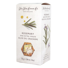 Load image into Gallery viewer, Rosemary & Extra Virgin Olive Oil Crackers