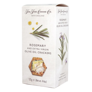 Rosemary & Extra Virgin Olive Oil Crackers