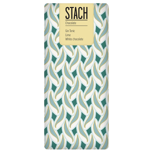Stach Gin, Tonic & Lime White Chocolate 130g