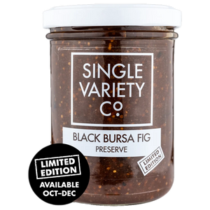 The Single Variety Co. Black Bursa Fig Preserve 225g