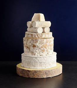 Cheese celebration cake