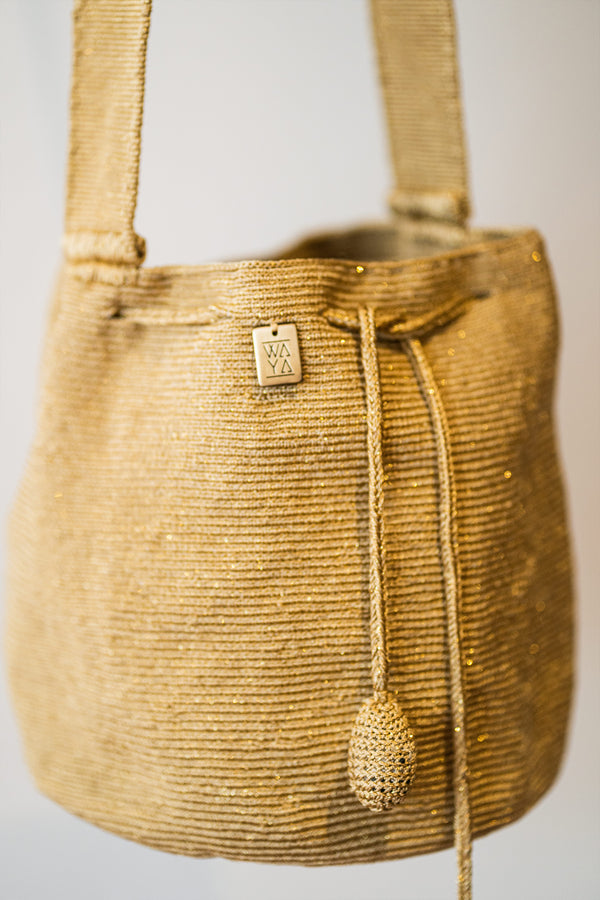 Kai Kashii Medium Bag gold